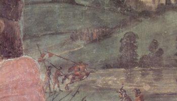 Погребение св. Стефана, фрагмент