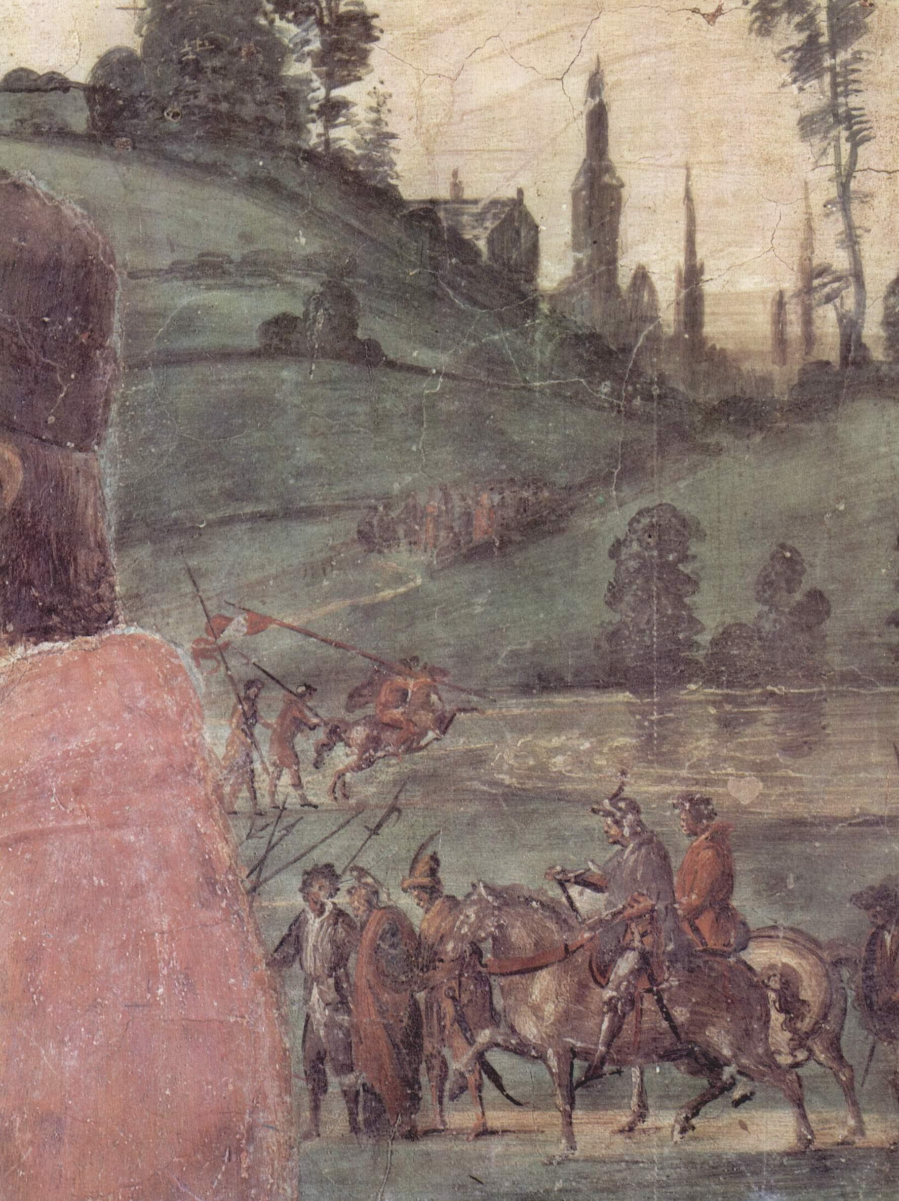Погребение св. Стефана, фрагмент, Липпи Фра Филиппо