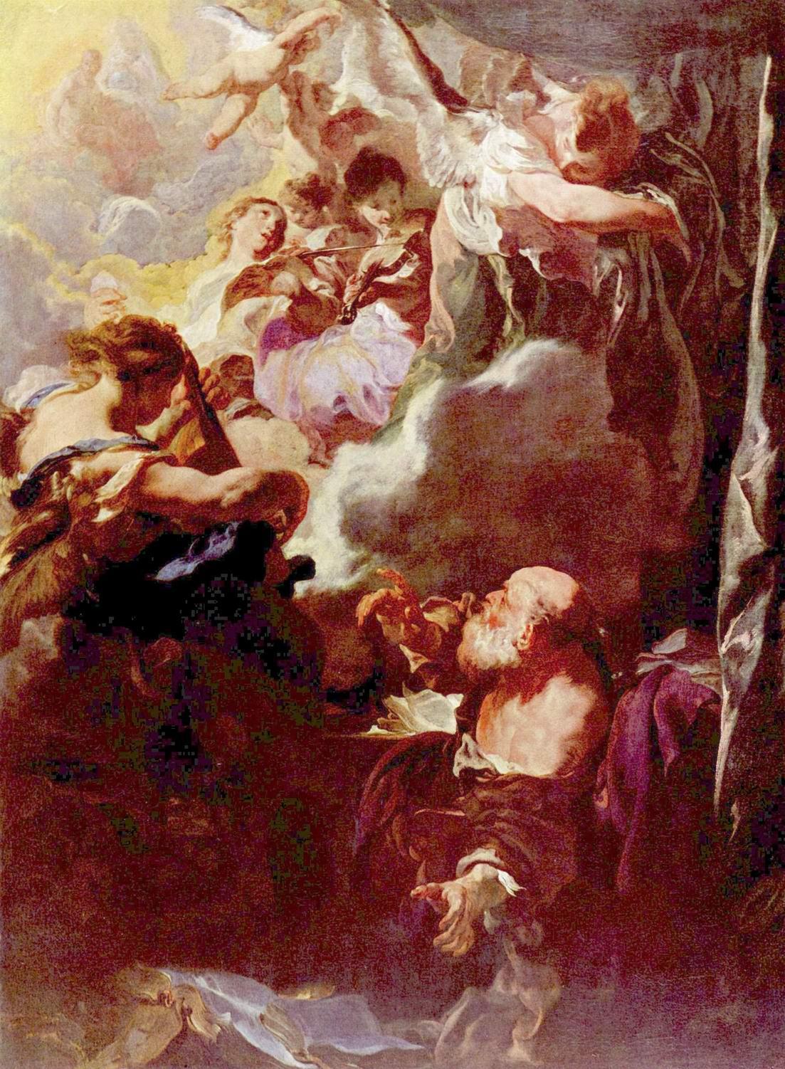 Экстаз апостола Павла, Лисс Иоганн