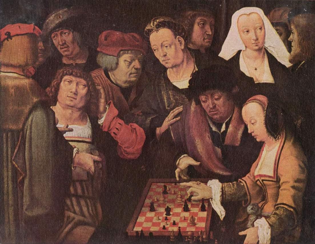 Шахматная партия, Лукас ван Лейден