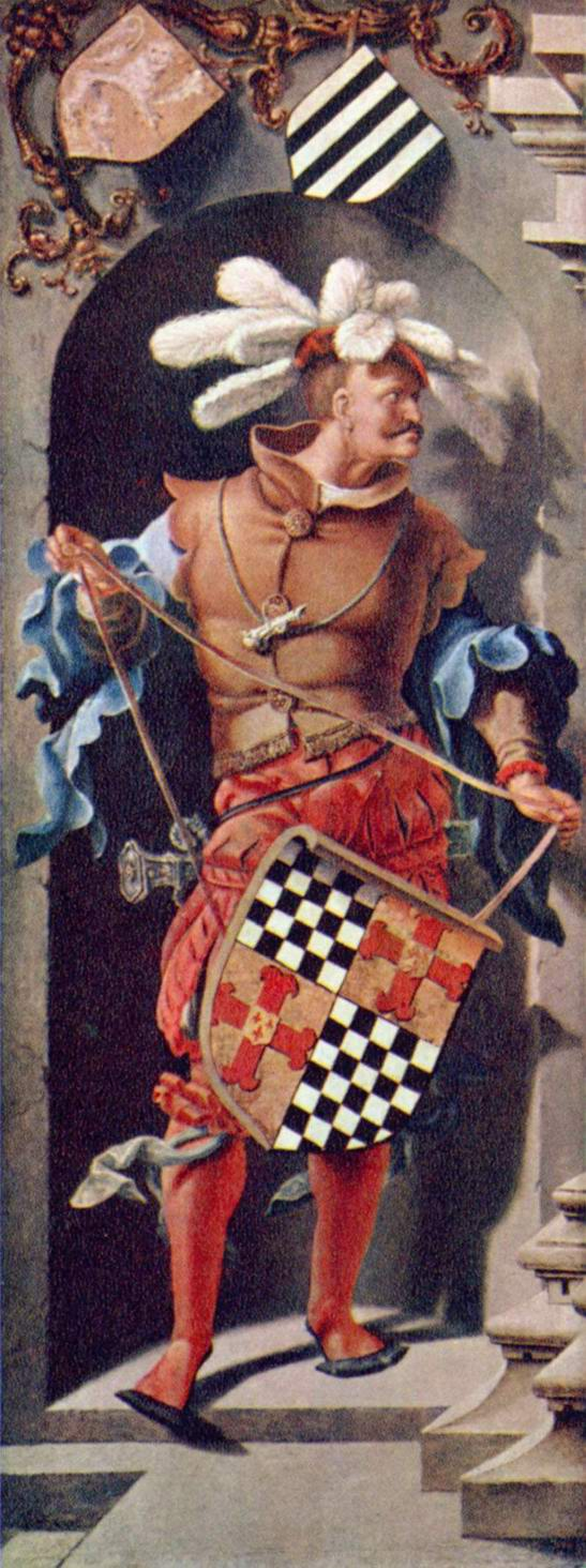 Портрет Якоба Флориса ван Монфора, Лукас ван Лейден