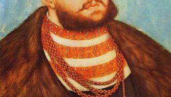 Портрет Иоанна Фридриха, курфюрста Саксонского