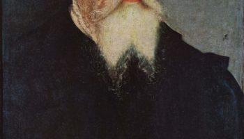 Портрет Лукаса Кранаха Старшего в возрасте 77 лет