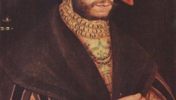 Портрет молодого мужчины в берете