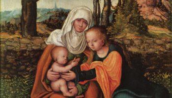 Св. Анна с Марией и младенцем Христом