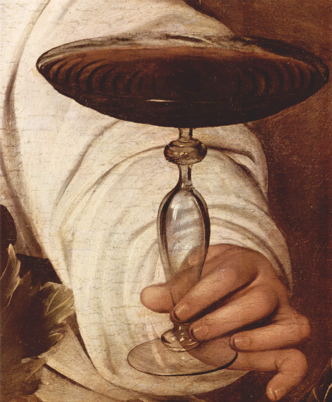 Вакх. Деталь, Микеланджело Меризи де Караваджо