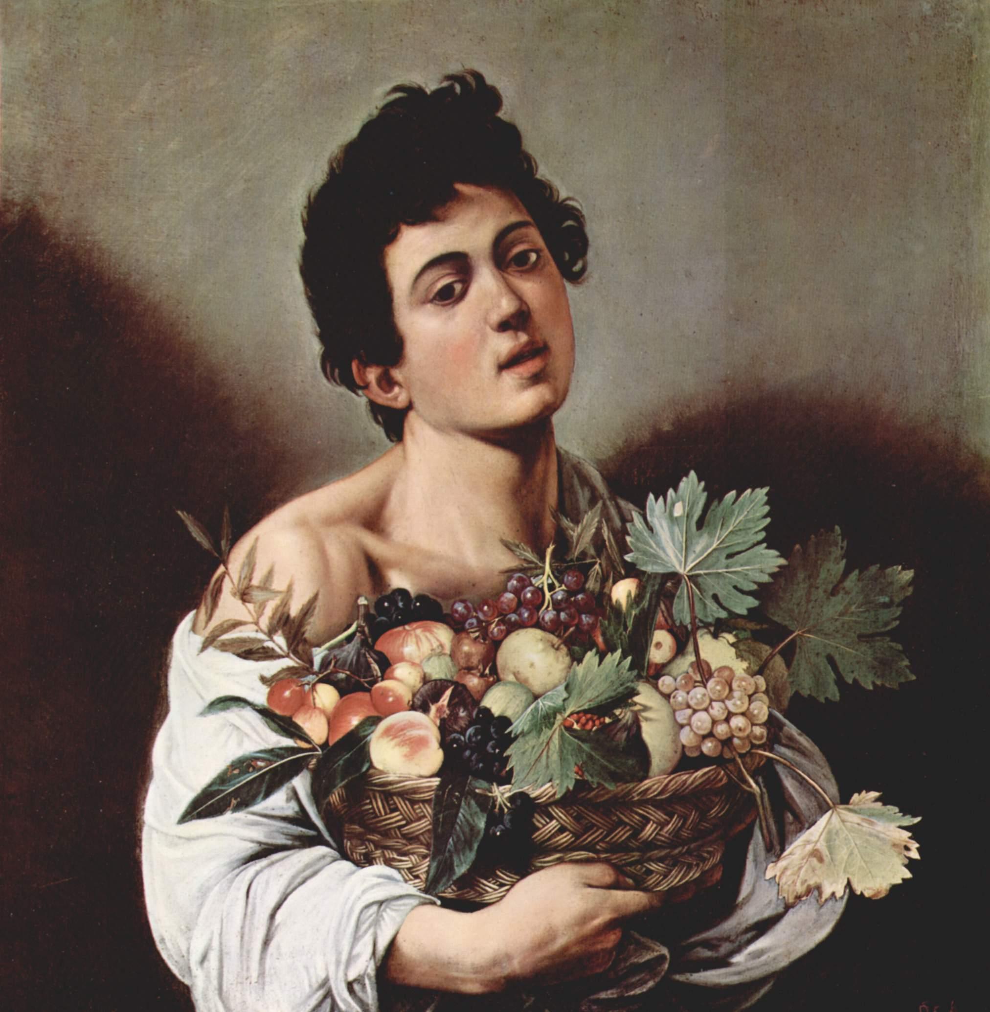 Юноща с корзиной фруктов, Микеланджело Меризи де Караваджо