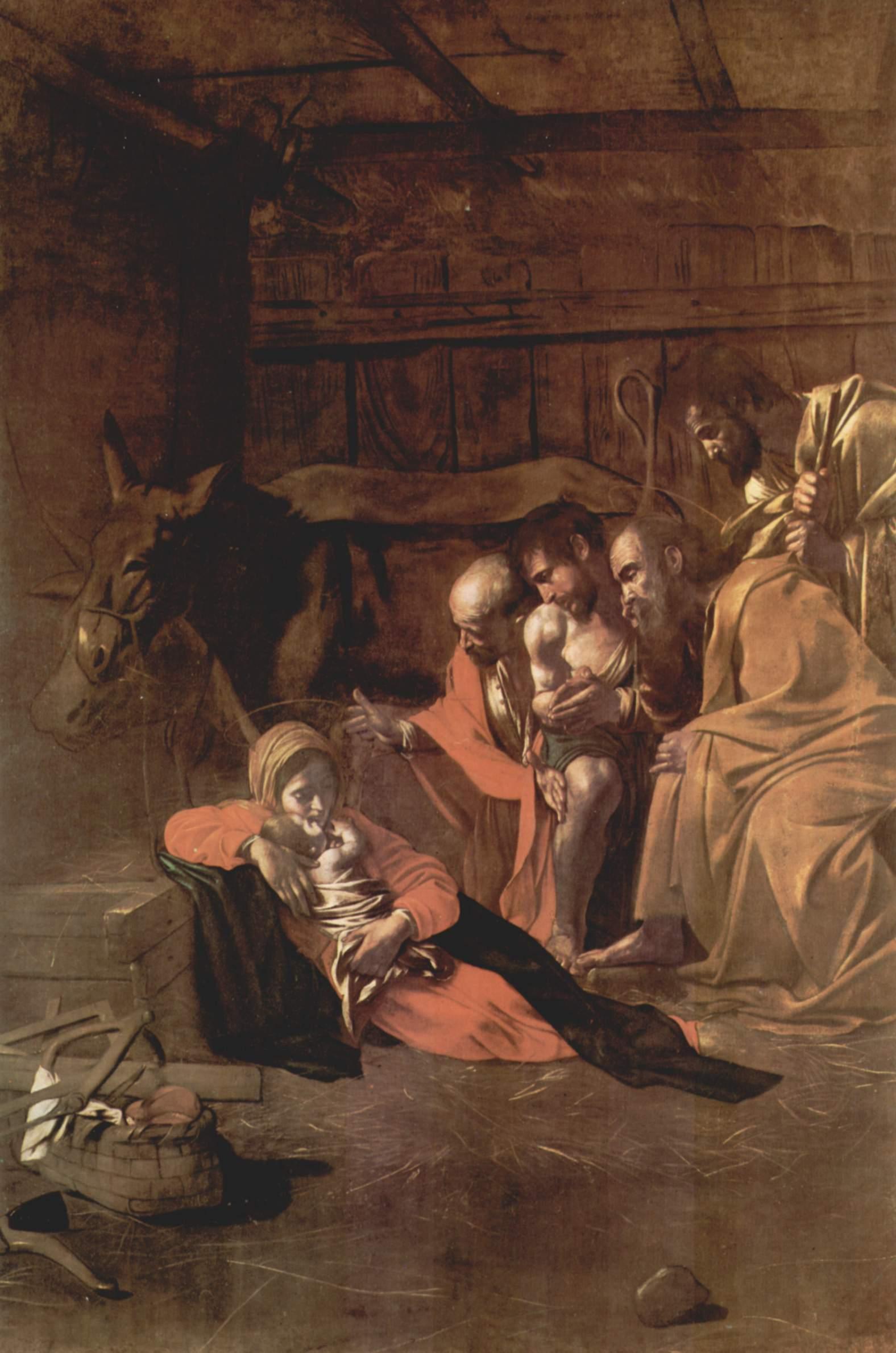 Поклонение пастухов, Микеланджело Меризи де Караваджо