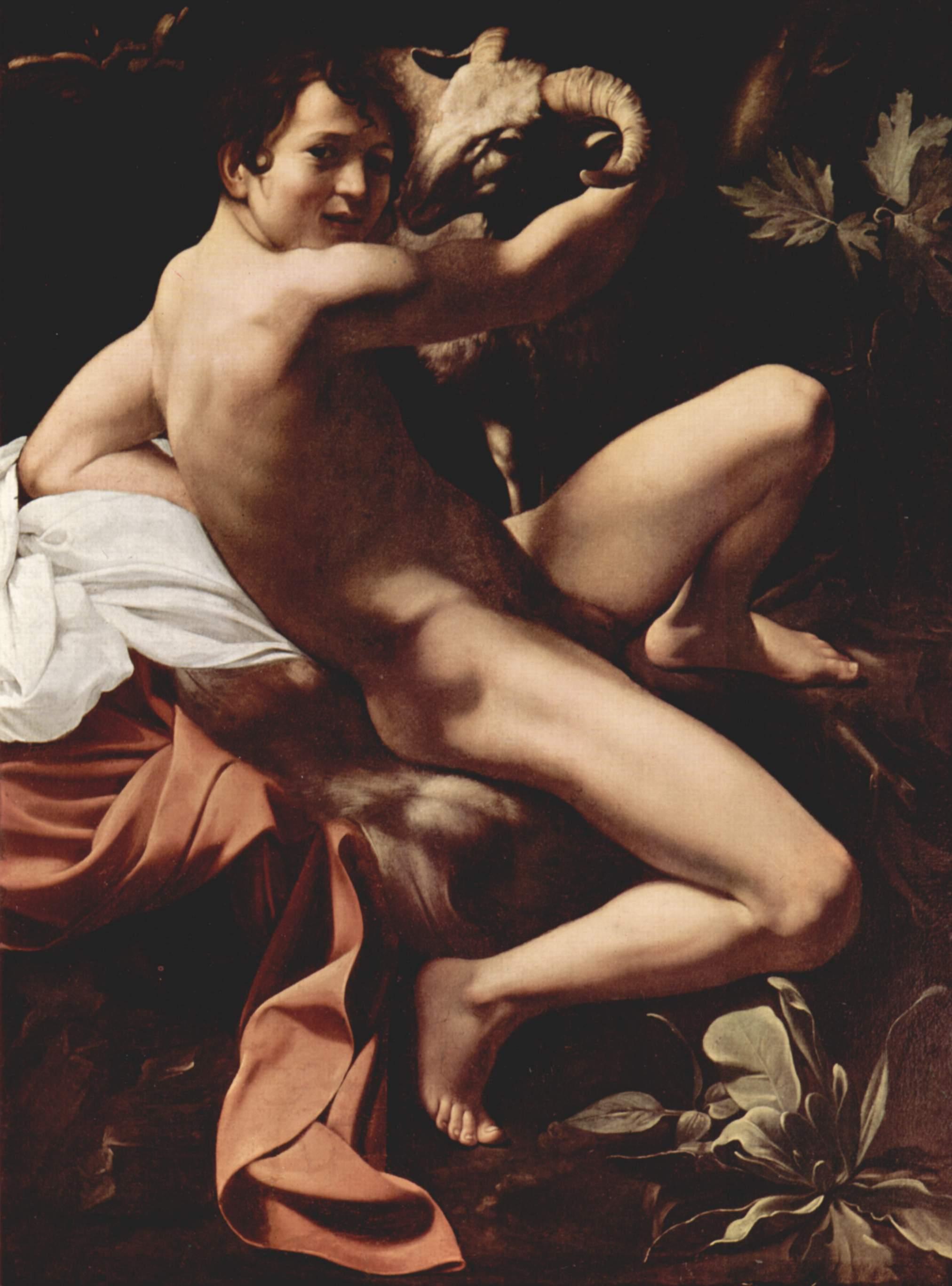 Св. Иоанн Креститель, Микеланджело Меризи де Караваджо