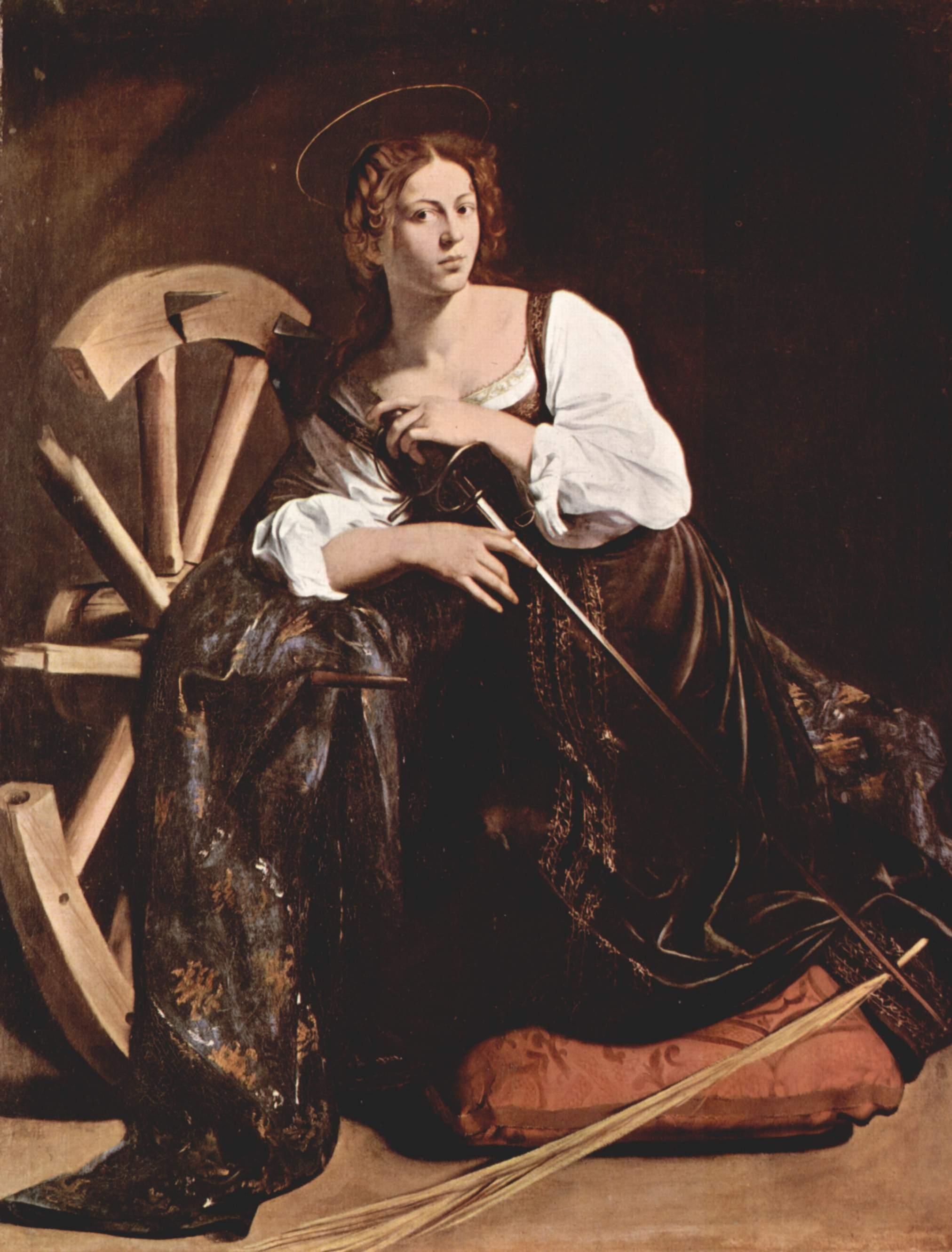Св. Екатерина Александрийская, Микеланджело Меризи де Караваджо