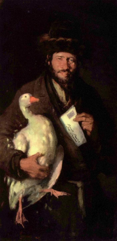 Еврей с гусем, Николае Григореску