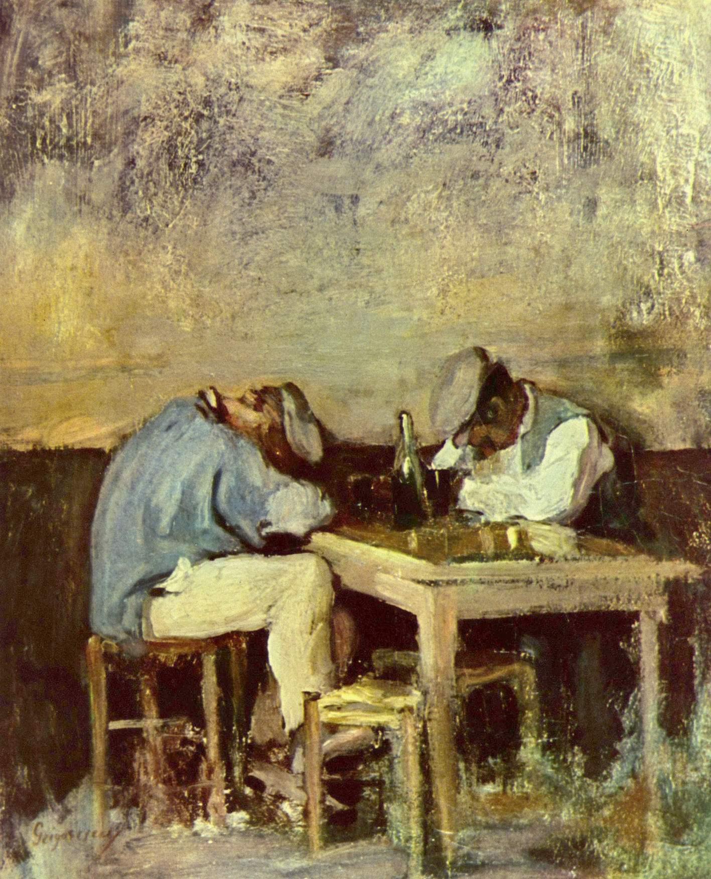 Два пьяницы, Николае Григореску