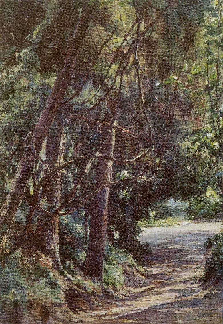 Аллея в старом парке, Николай Николаевич Ге