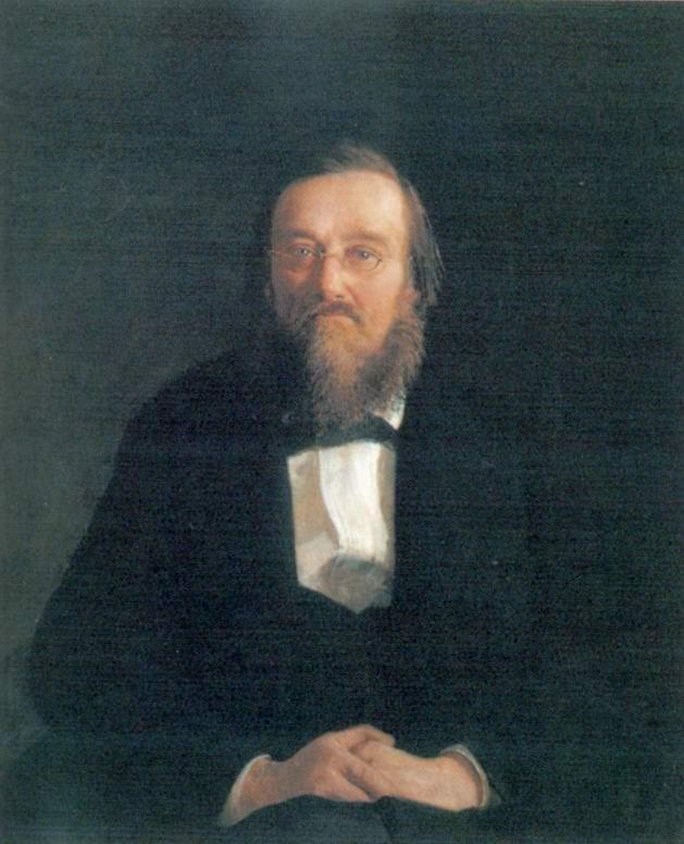 Портрет историка Николая Ивановича Костомарова, Николай Николаевич Ге