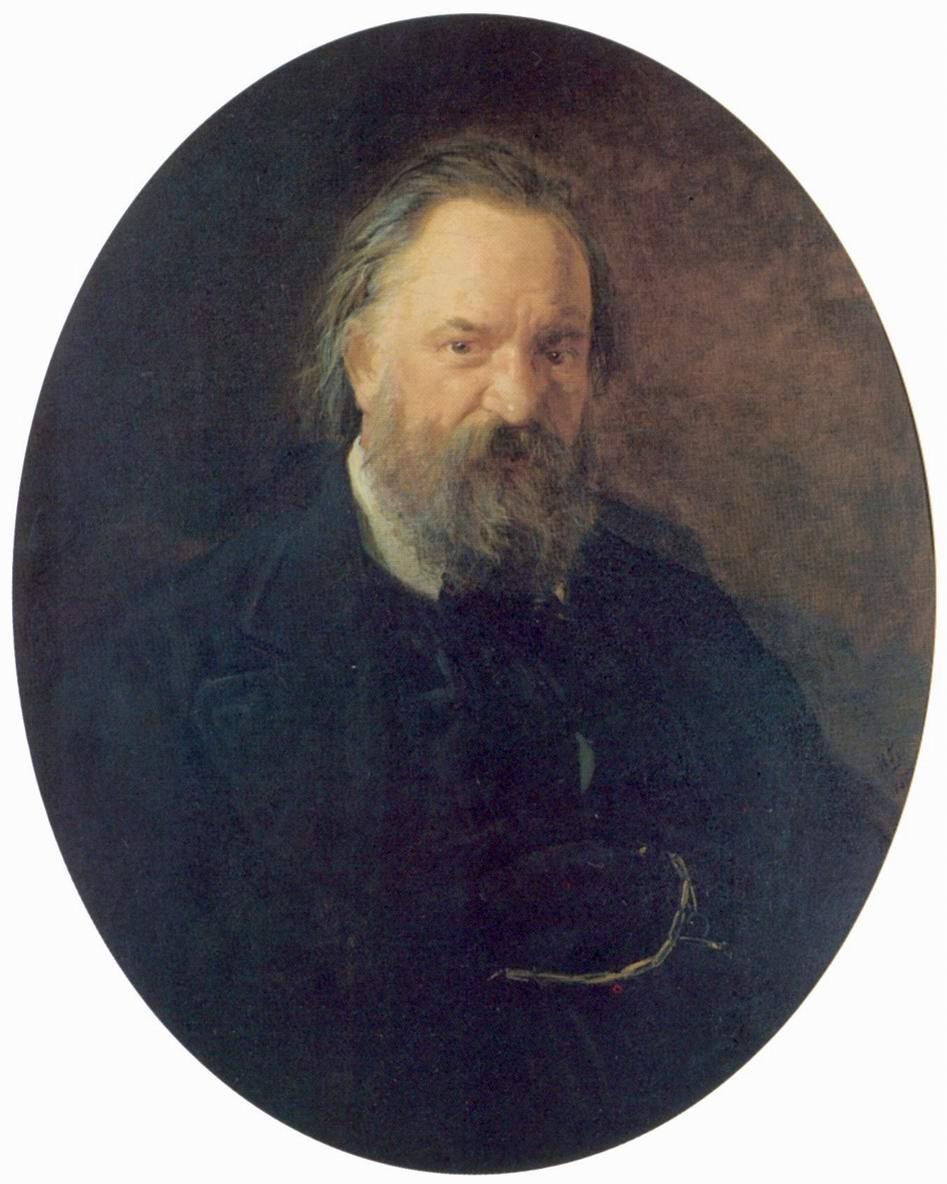 Портрет писателя Александра Ивановича Герцена, Николай Николаевич Ге