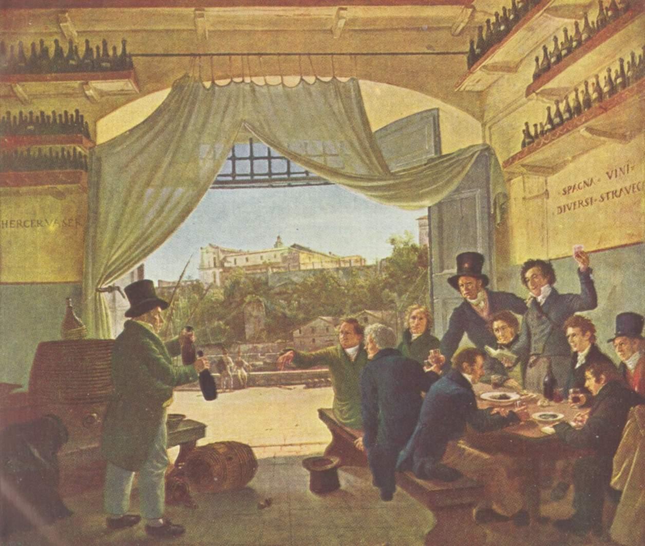 Дружеское застолье, Петер фон Корнелиус