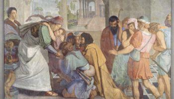 Фрески Каза Бартольди в Риме. Иосиф открывается своим братьям