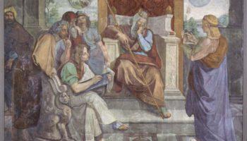 Фрески Каза Бартольди в Риме. Иосиф истолковывает сны фараона