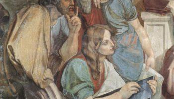 Фрески Каза Бартольди в Риме. Иосиф истолковывает сны фараона. Деталь