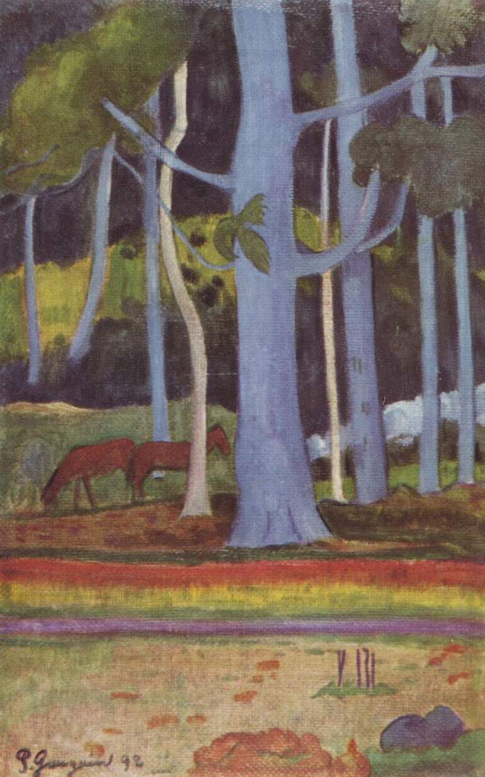 Пейзаж на Таити, Поль Гоген