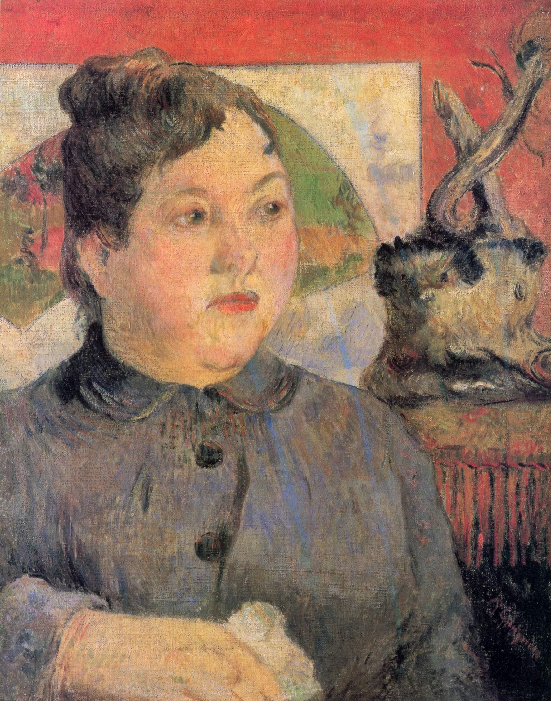 Портрет мадам Александры Колер, Поль Гоген