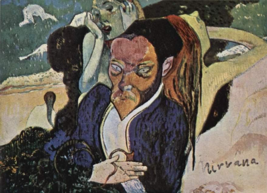 Нирвана. Портрет Майера де Хаана, Поль Гоген