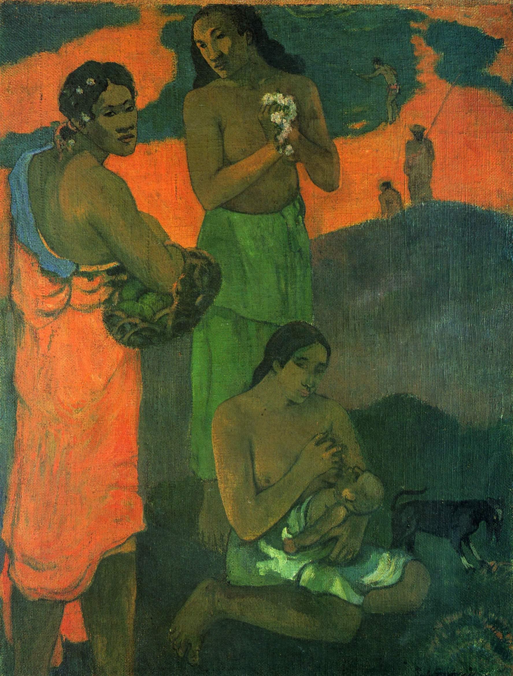 Материнство, Поль Гоген