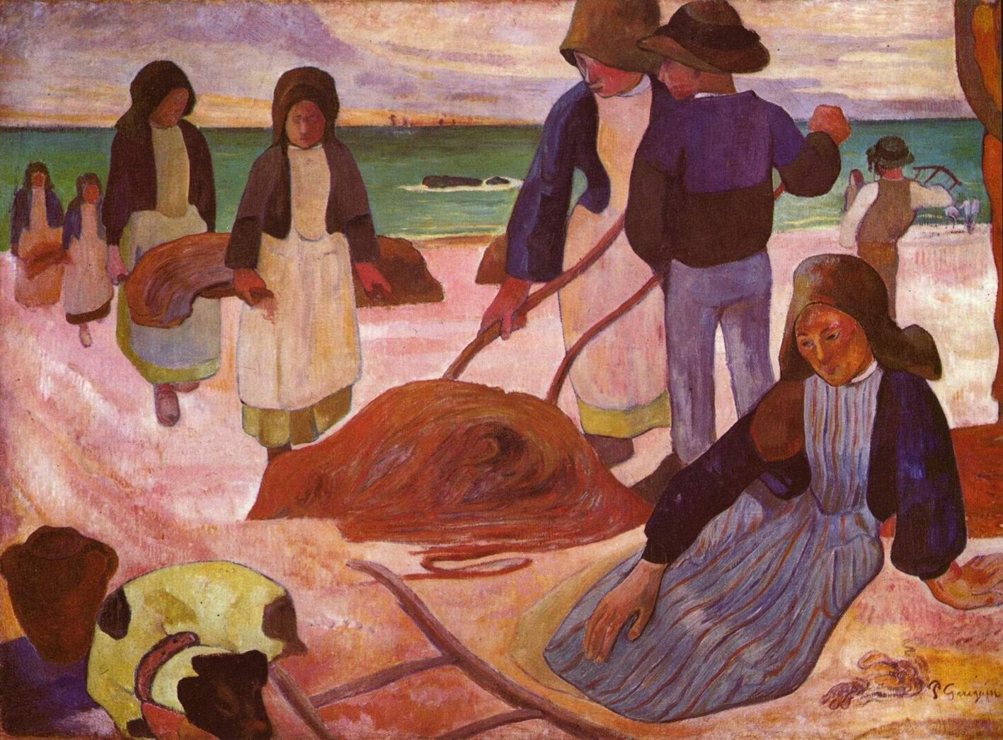 Сборщики водорослей, Поль Гоген