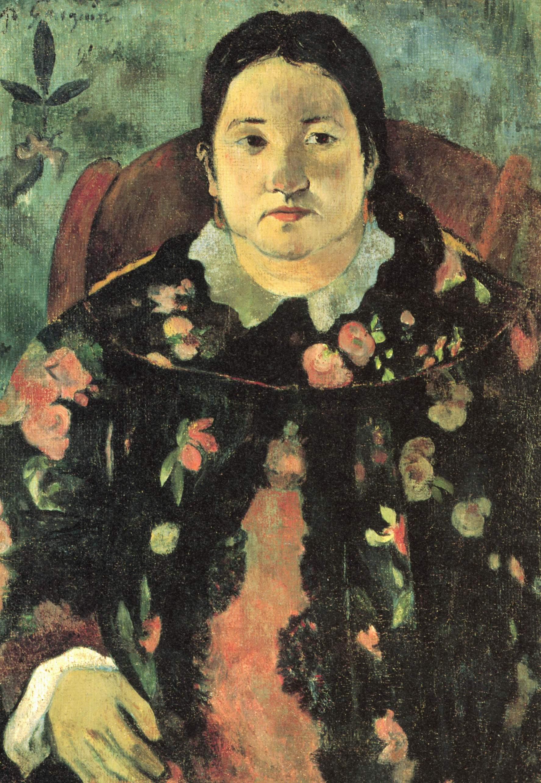 Портрет Сюзанны Бамбридж, Поль Гоген