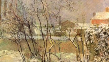 Сад зимой, рю Карсель