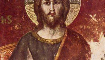 Цикл фресок Страшного суда в Санта Сесилия в Трастевере в Риме, Страшный суд. Деталь  Христос