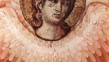 Цикл фресок Страшного суда в Санта Сесилия в Трастевере в Риме, Страшный суд. Деталь  ангел