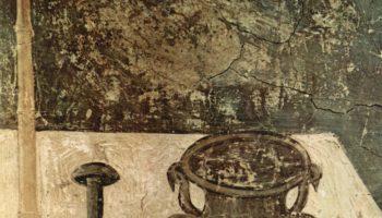 Цикл фресок Страшного суда в Санта Сесилия в Трастевере в Риме, Страшный суд. Деталь