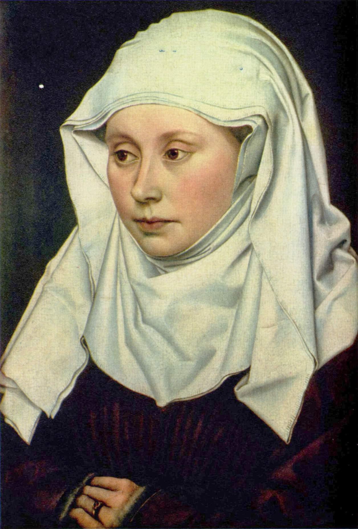Портрет женщины, Робер Кампен