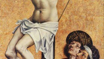 Раскаявшийся разбойник на кресте, фрагмент