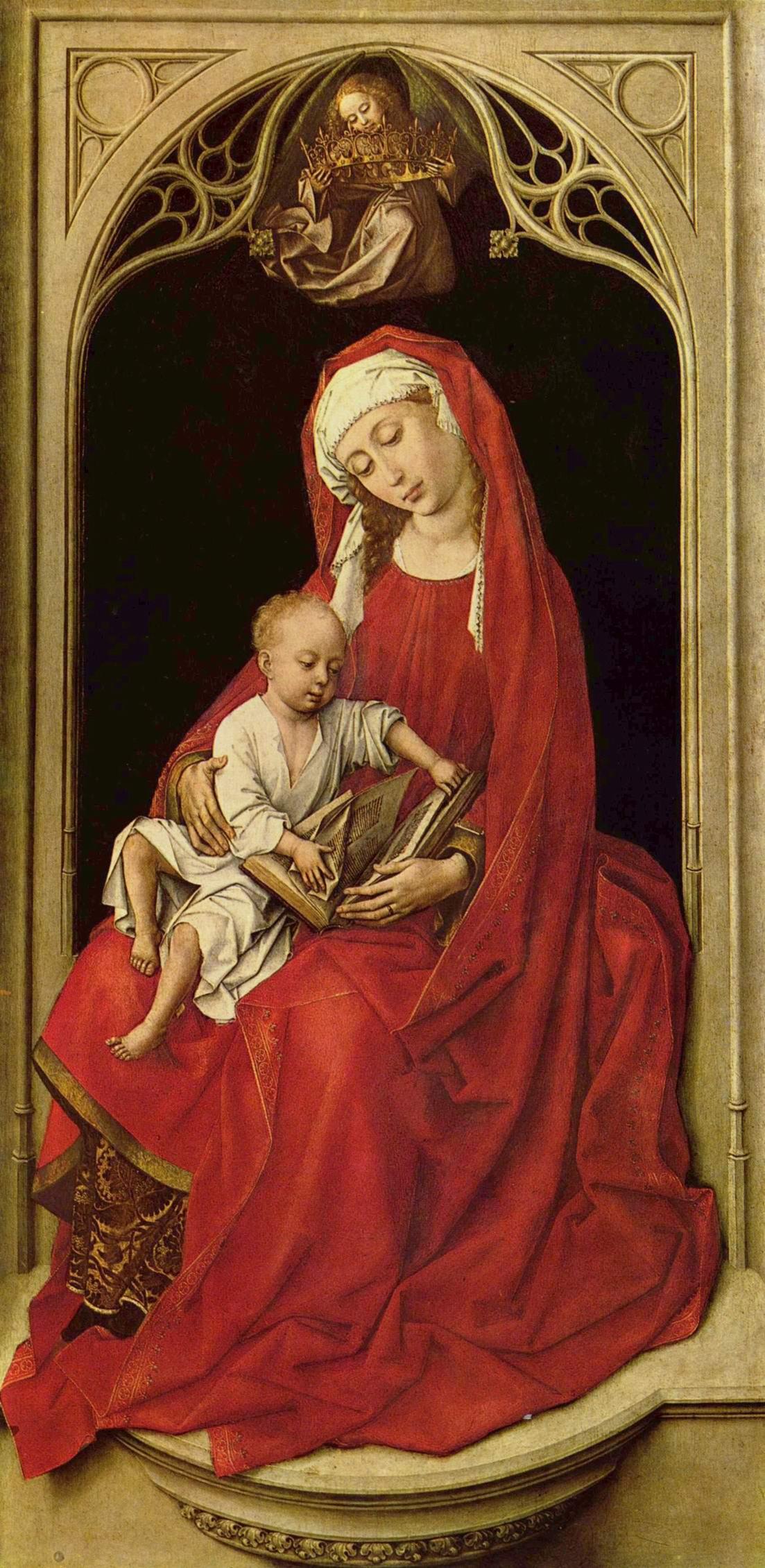 Мария с младенцем, Рогир ван дер Вейден