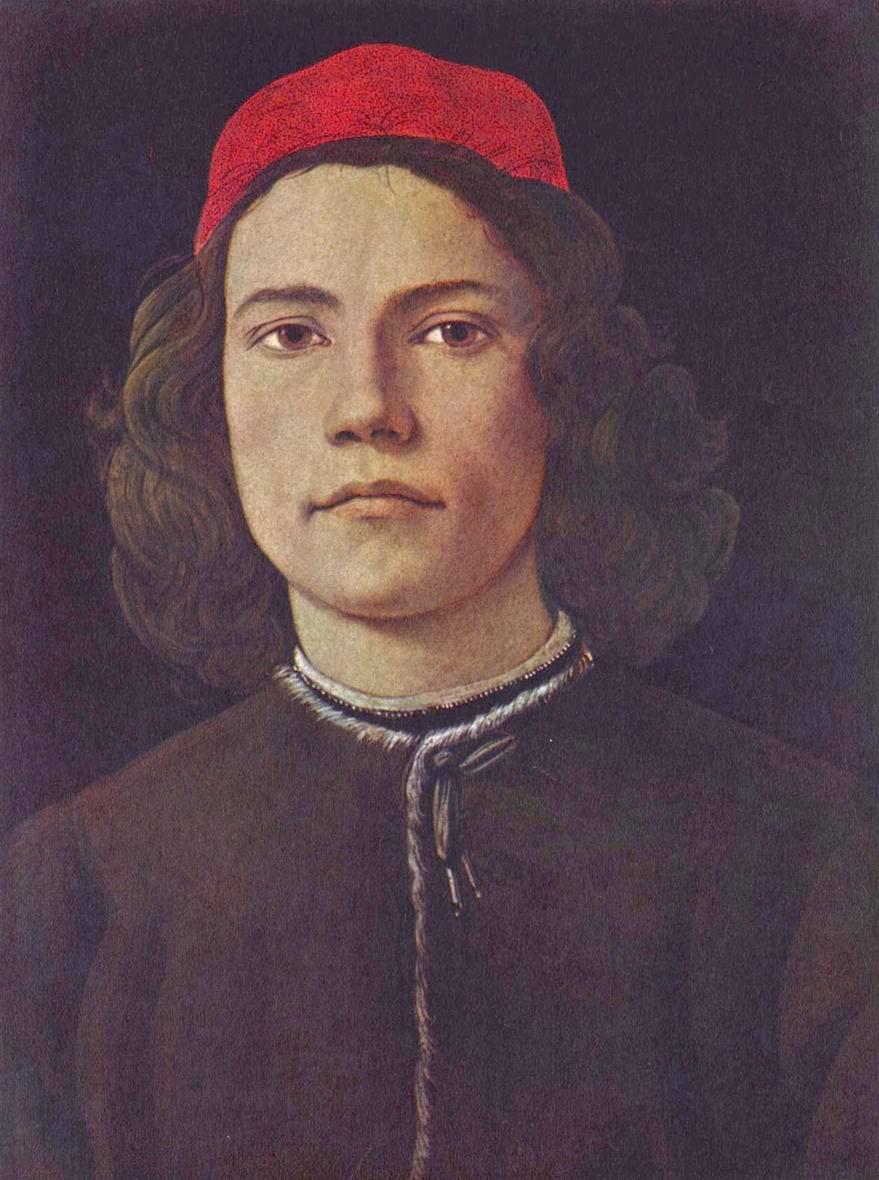 Портрет молодого человека, Сандро Боттичелли
