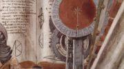 Св. Августин в молитвенном созерцании. Деталь