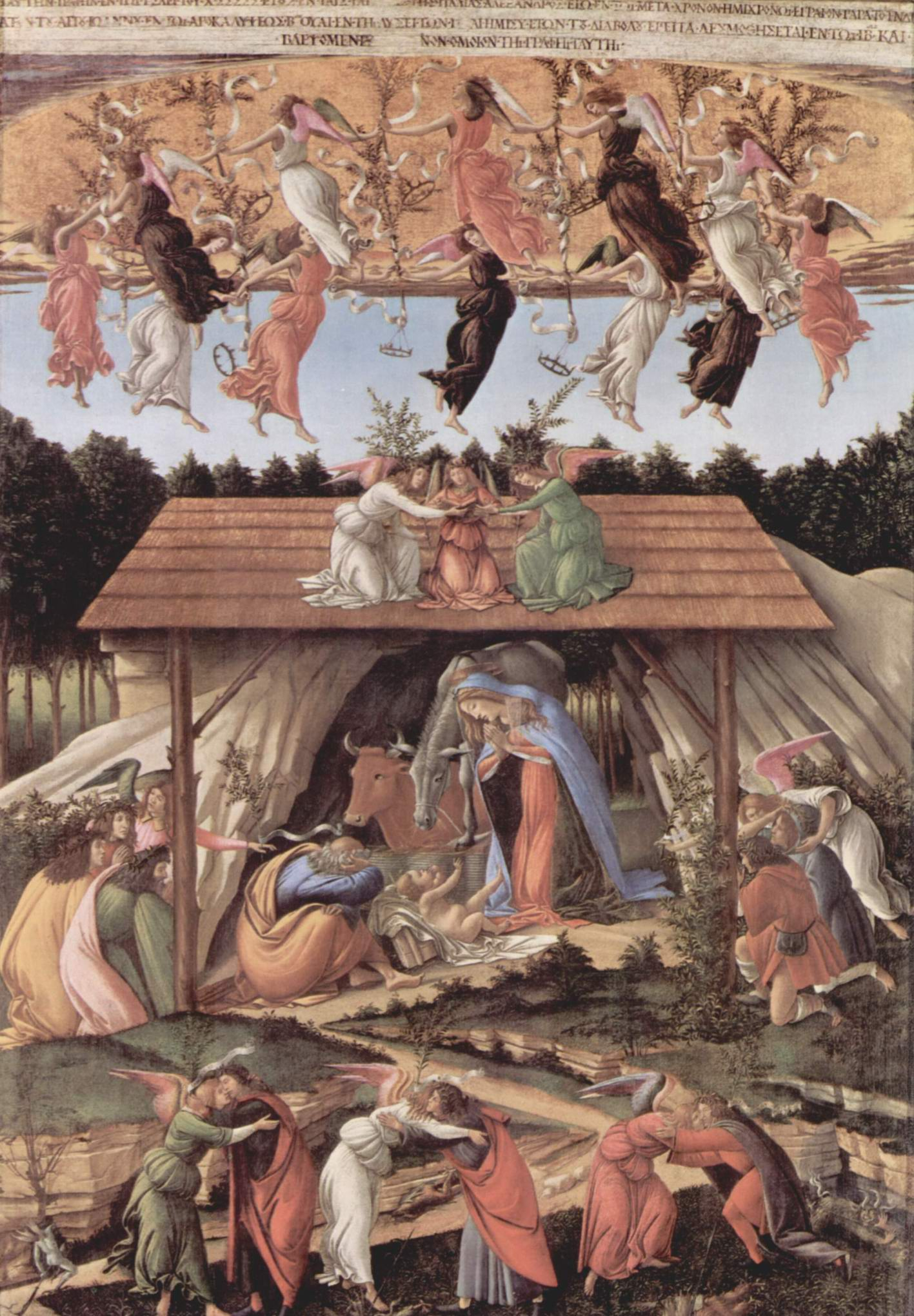 Рождество, Сандро Боттичелли