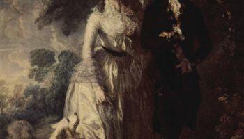 Утренняя прогулка (Портрет сквайра Хэллета и его супруги)