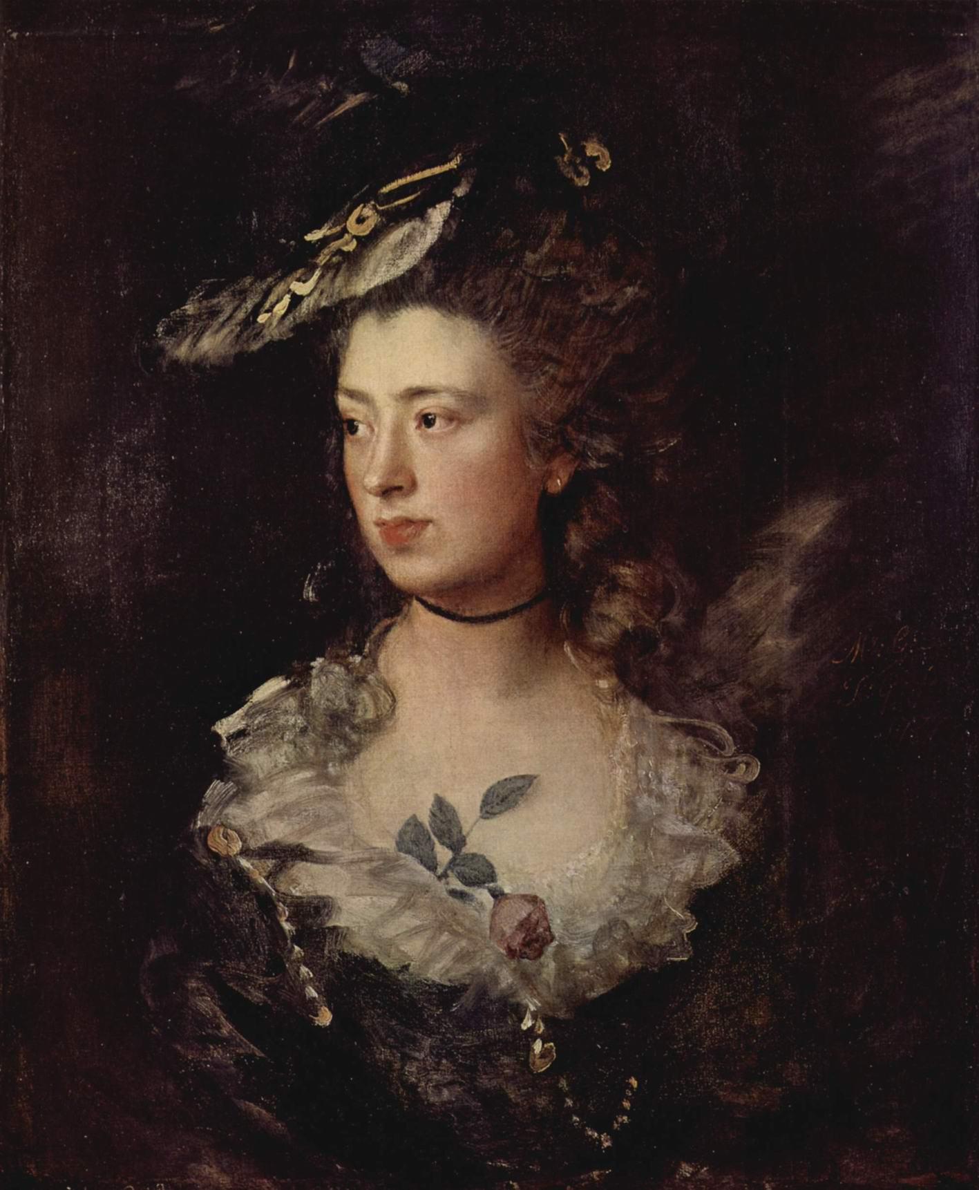 Портрет Мэри Гейнсборо, дочери художника, Томас Гейнсборо