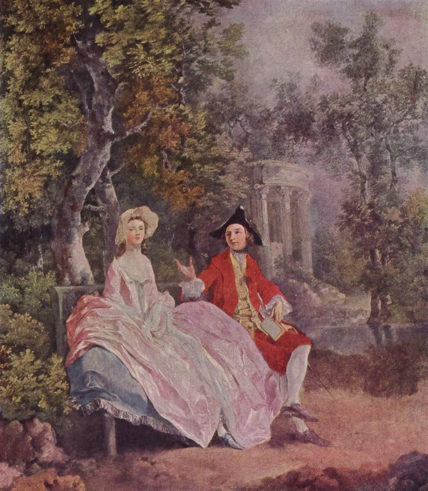 Разговор в парке, Томас Гейнсборо