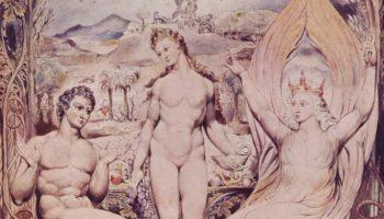 Рафаил предупреждает Адама и Еву. Иллюстрации к поэме Мильтона «Потерянный рай»