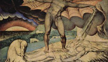 Сатана поражает Иова проказой