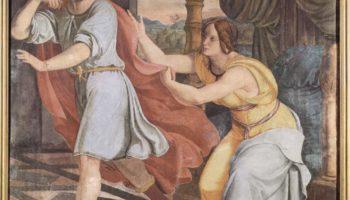Цикл фресок в Каза Бартольди (Рим). Иосиф и жена Потифара