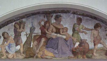 Цикл фресок в Каза Бартольди (Рим). Семь тучных лет