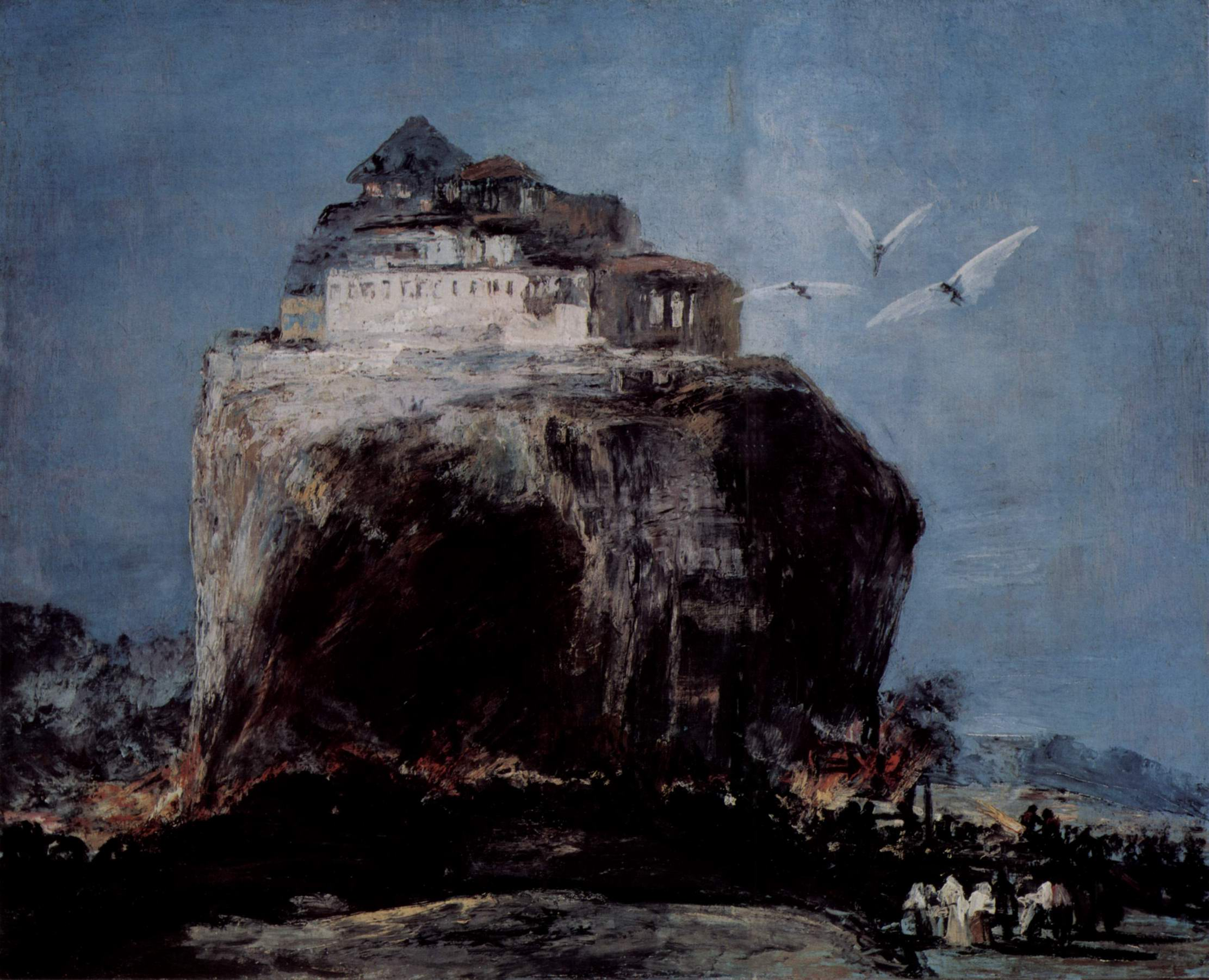 Нападение на крепость, Франсиско де Гойя-и-Лусьентес