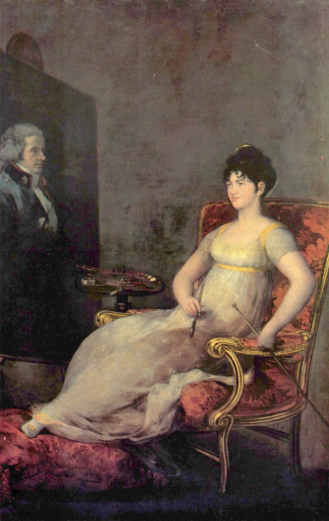 Портрет маркизы Вильяфранка, Франсиско де Гойя-и-Лусьентес