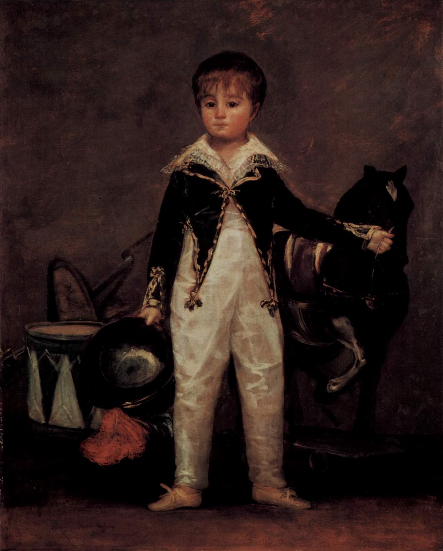 Портрет Пепито Коста-и-Бонелис, Франсиско де Гойя-и-Лусьентес