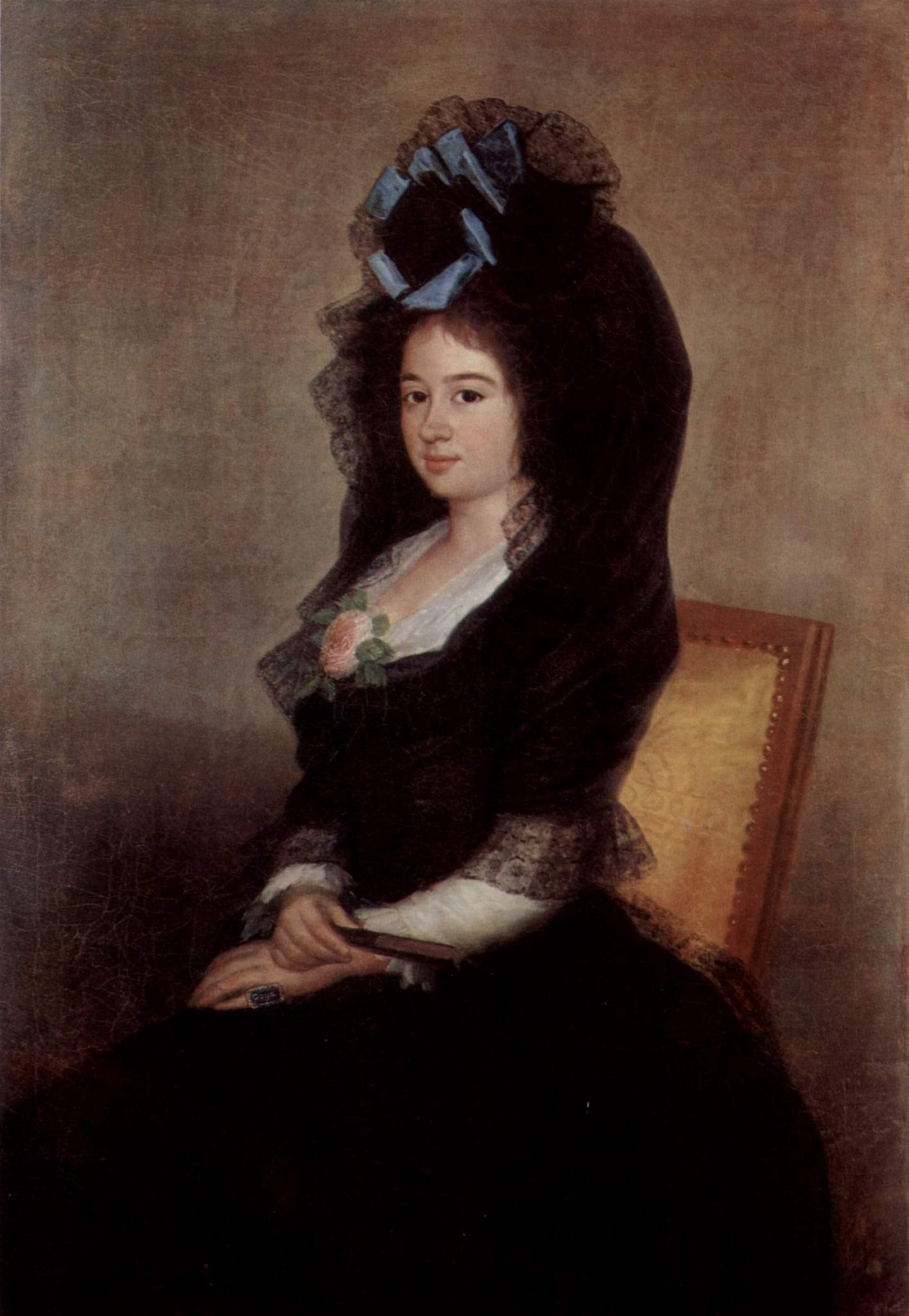 Портрет Нарсисы Бараньяна де Гойкоечеа, Франсиско де Гойя-и-Лусьентес